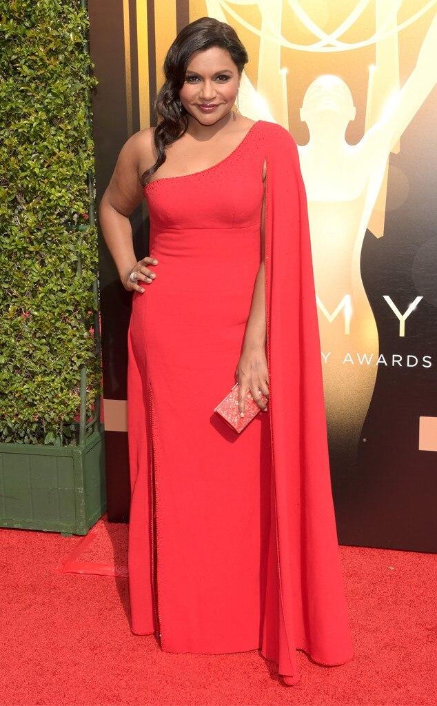 Mindy Kaling, 2015 Creative Arts Emmy Awards
