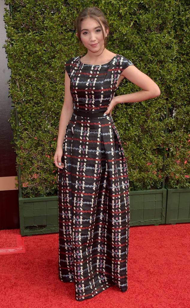 Rowan Blanchard, 2015 Creative Arts Emmy Awards