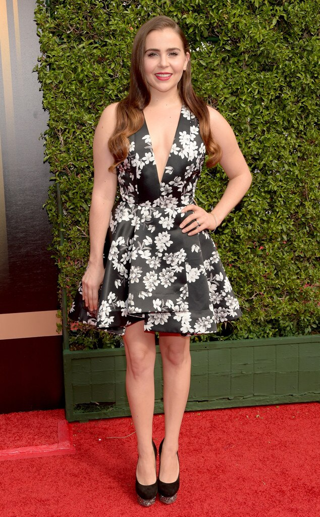 Mae Whitman, 2015 Creative Arts Emmy Awards