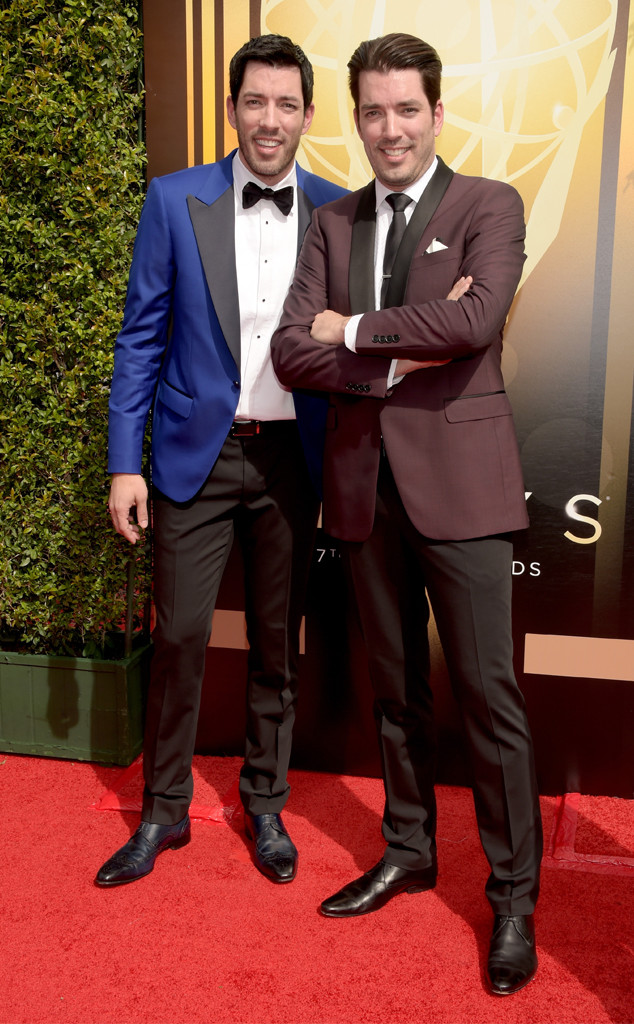 Drew Scott, Jonathan Silver Scott, 2015 Creative Arts Emmy Awards