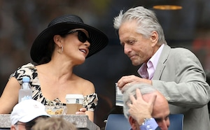 Michael Douglas, Catherine Zeta-Jones, US Open