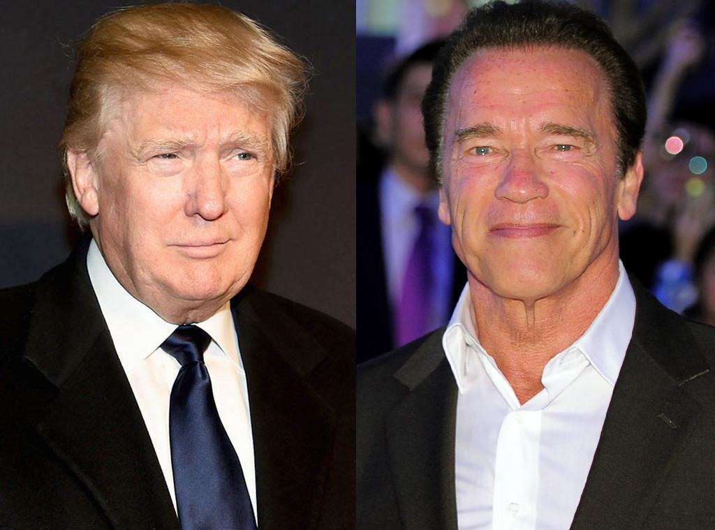 Donald Trump, Arnold Schwarzenegger