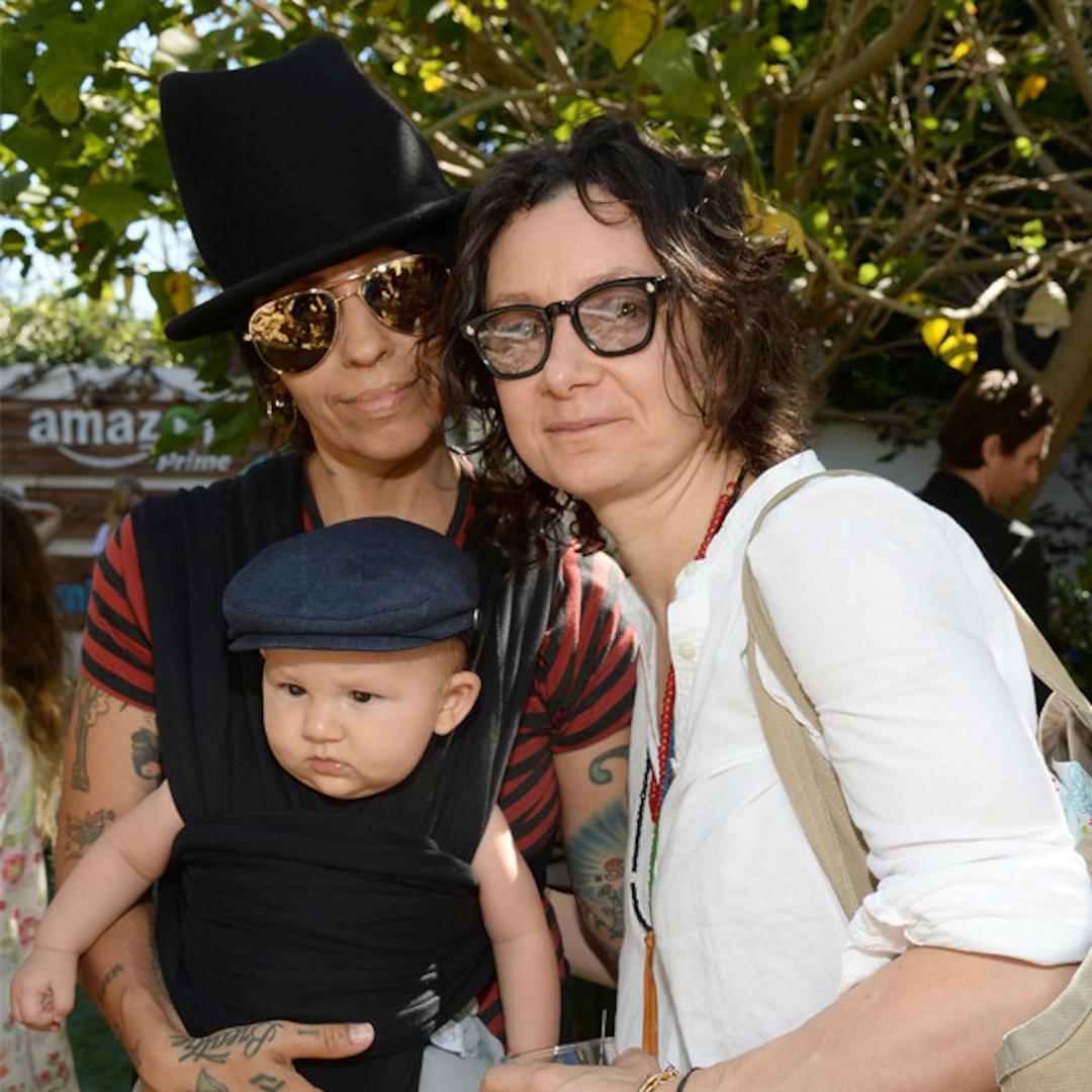 Sara Gilbert and Linda Perry Bring Son Rhodes to Family