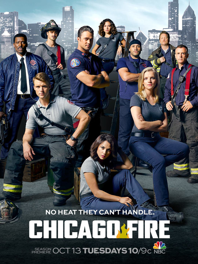 Chicago Fire, Poster
