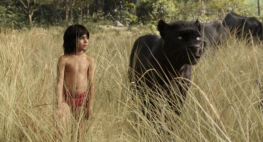 The Jungle Book, Mowgli, Bagheera, Neel Sethi
