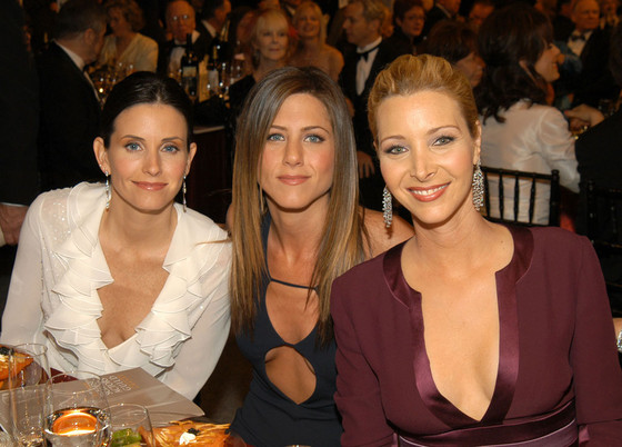 Courteney Cox, Jennifer Aniston, Lisa Kudrow