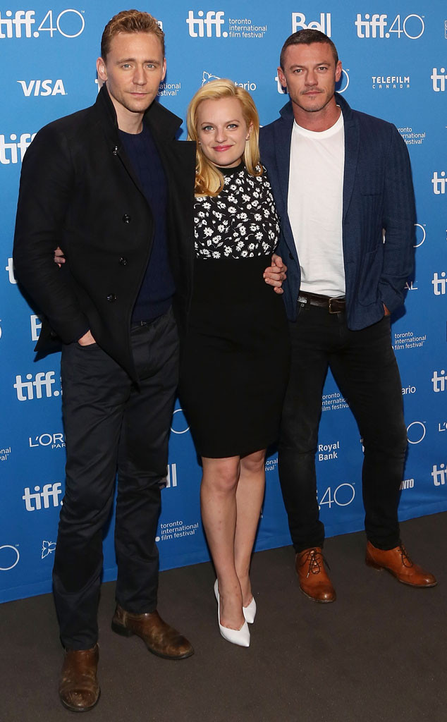 Tom Hiddleston, Elisabeth Moss, Luke Evans