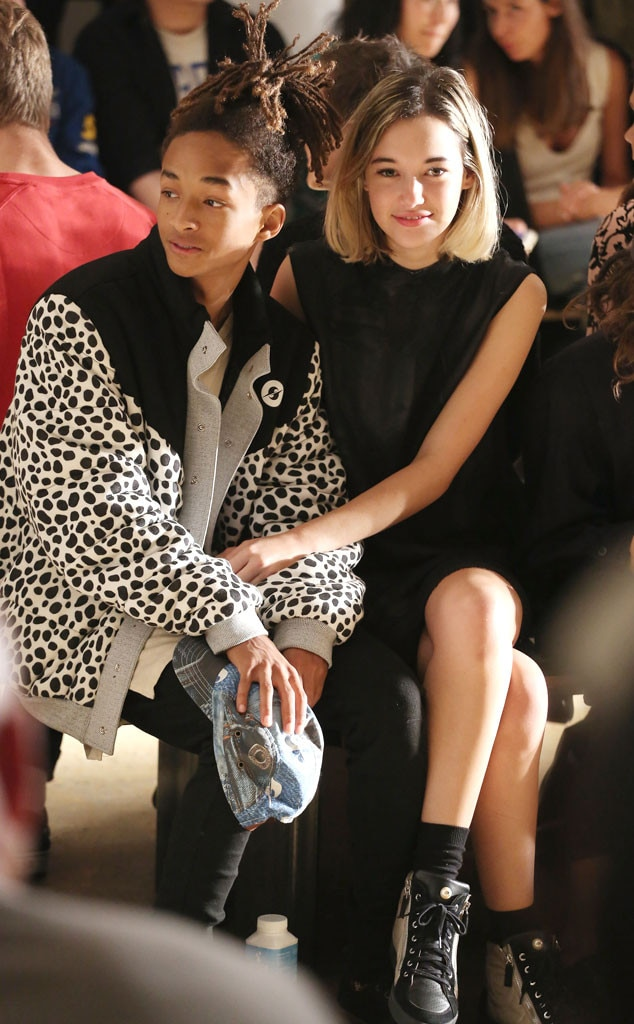 Jaden Smith Sarah Snyder From Stars At New York Fashion Week