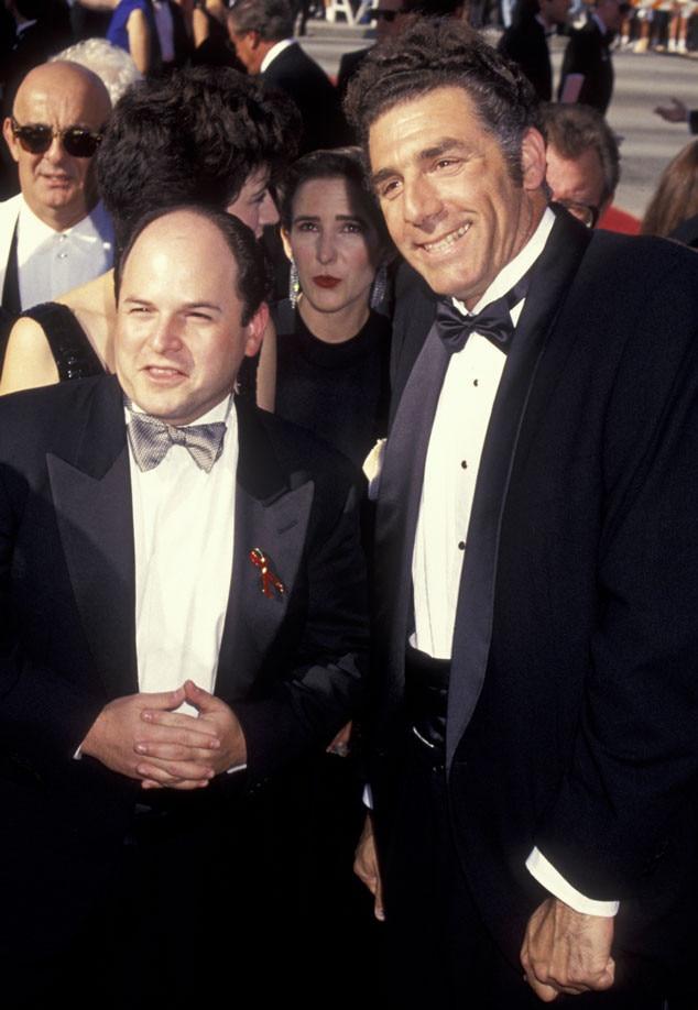 Emmy Cast Flashbacks, Jason Alexander, Michael Richards, 1993
