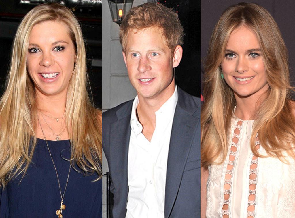 Prince Harry, Cressida Bonas, Chelsy Davy