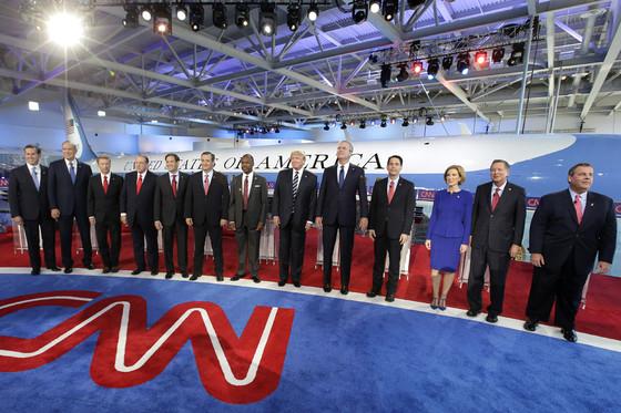 Republican Debate, Candidates