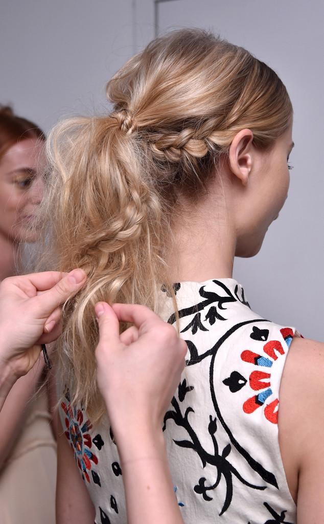 Hair, NYFW, Princess Ponytail