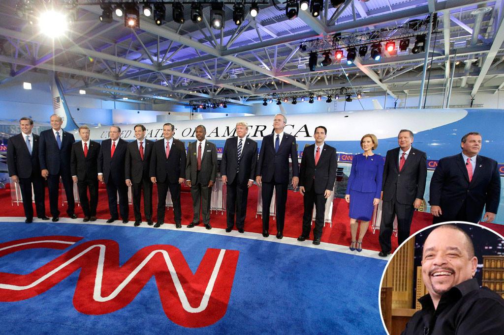 Republican Debate, Candidates, Ice-T