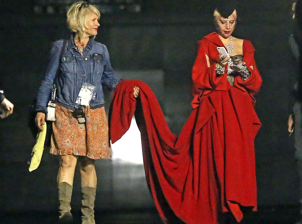 Photos From Inside Lady Gaga S Amazing Horror Story Fashion E Online