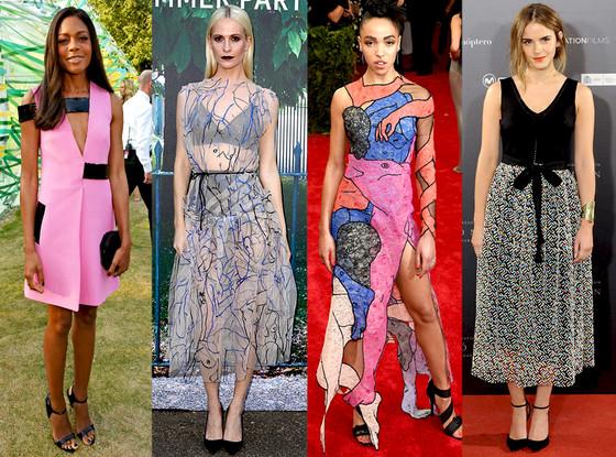 Celebrity London Fashion Week Guide, Christopher Kane