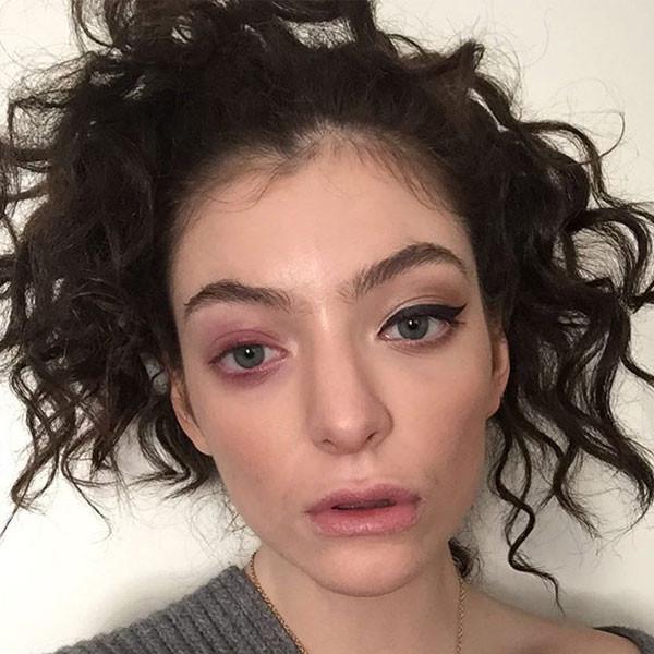 Lorde, Eye, Instagram