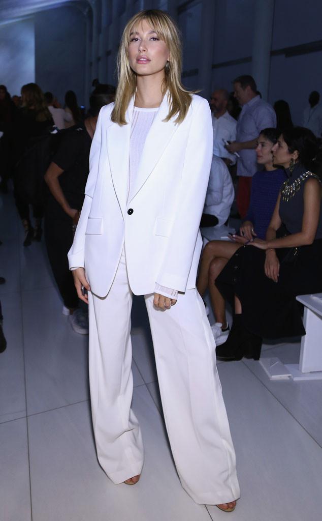 Hailey Baldwin, Stars at NYFW