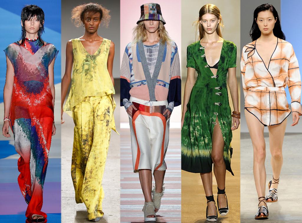 Fashion Week Trends, Tie-Dye