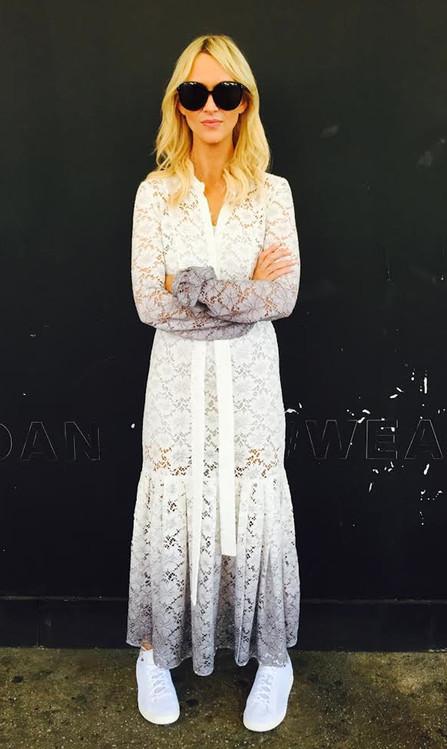 Zanna Roberts Rassi, E! NYFW Diary