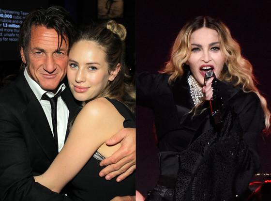 Sean Penn, Dylan Penn, Madonna