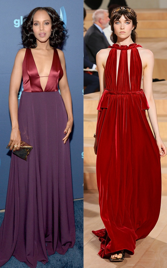 Emmy Gown Predictions, Kerry Washington