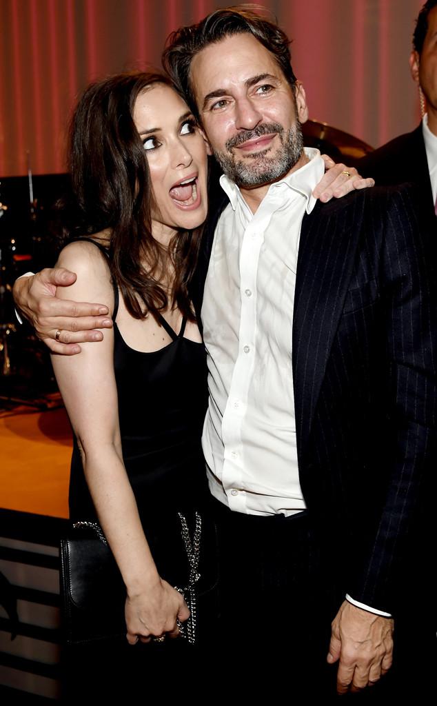 Winona Ryder, Marc Jacobs, NYFW