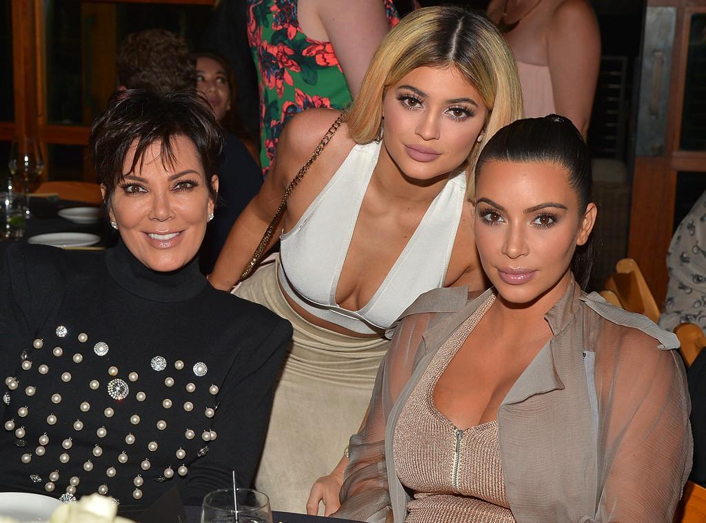 Kris Jenner, Kylie Jenner, Kim Kardashian West