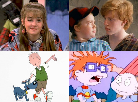 Rugrats, Clarissa Explains It All, Doug, The Adventures of Pete and Pete