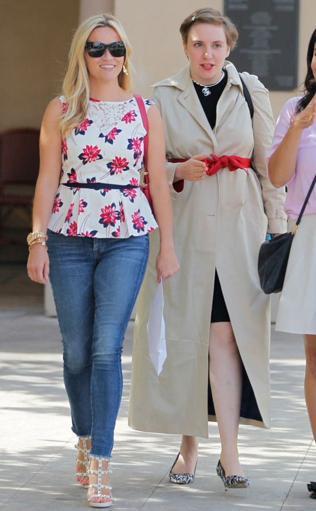 Reese Witherspoon, Lena Dunham