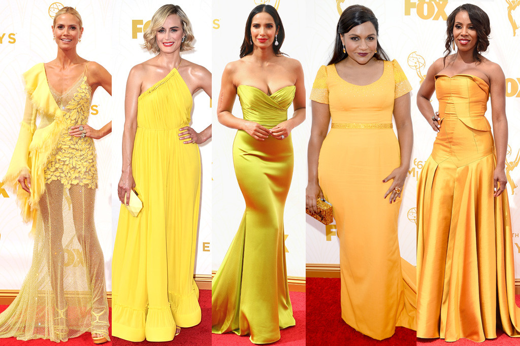 Yellow Dresses, Emmy Awards 2015