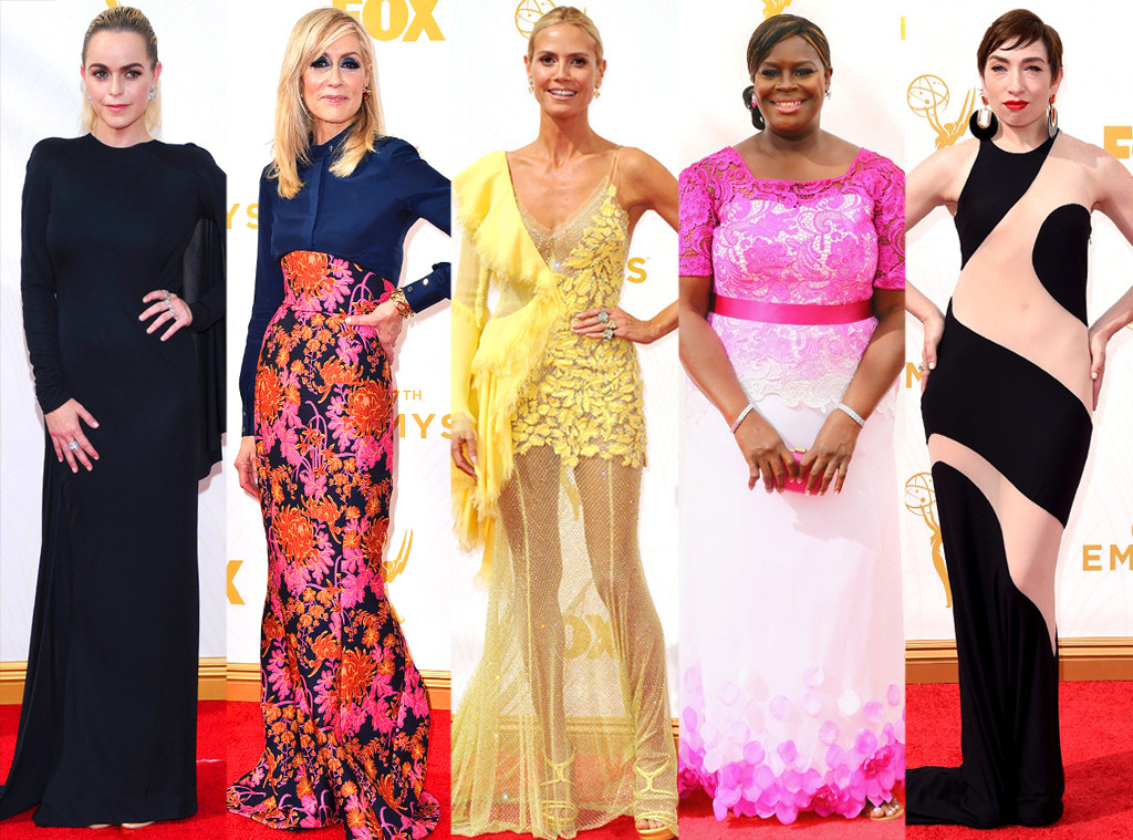 Worst Dressed Emmy Awards 2015