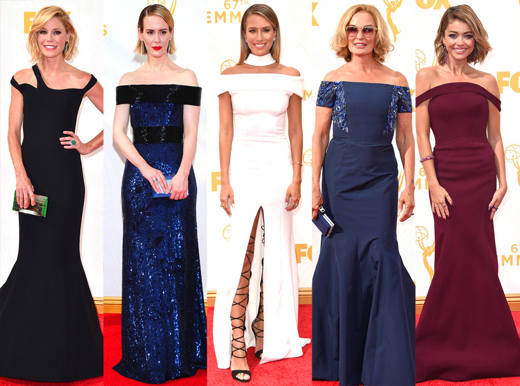 Off-the-Shoulder, Emmy Awards 2015