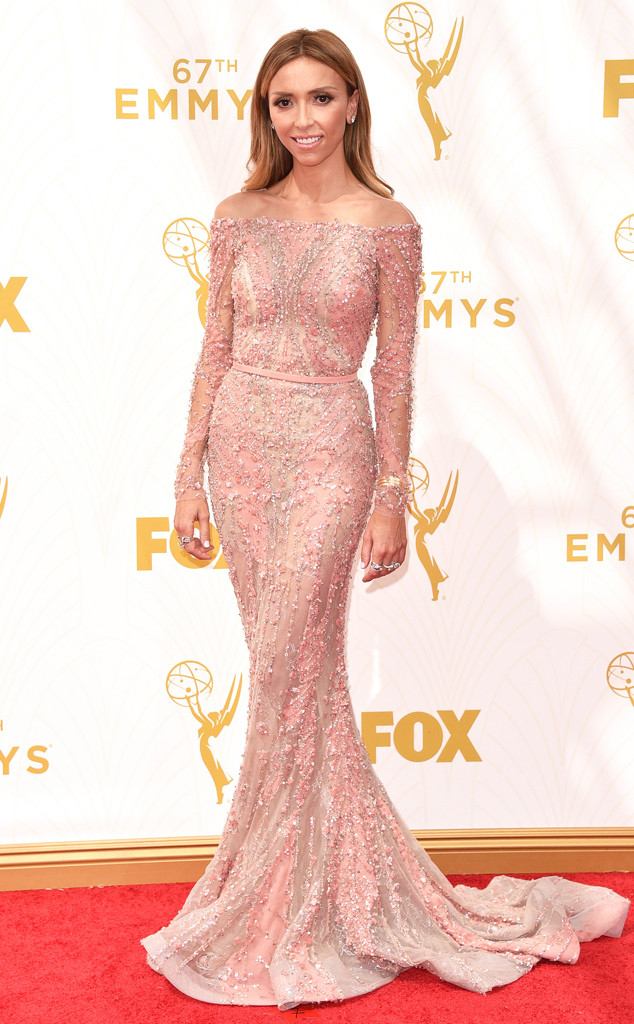 Giuliana Rancic, Emmy Awards 2015