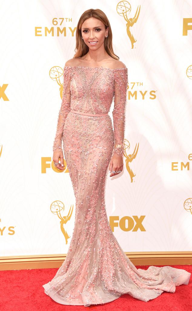 Giuliana Rancic, Emmy Awards 2015