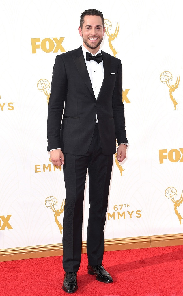 Zachary Levi, Emmy Awards 2015