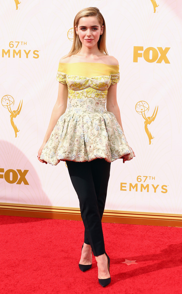 Kiernan Shipka, Emmy Awards 2015