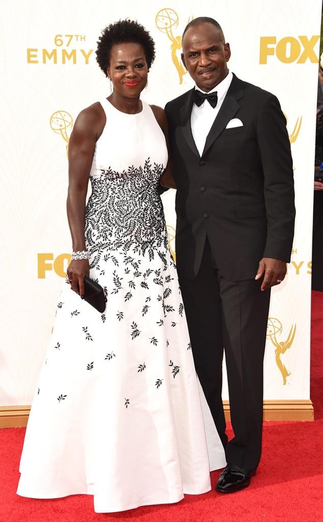 Viola Davis, Julius Tennon, Emmy Awards 2015