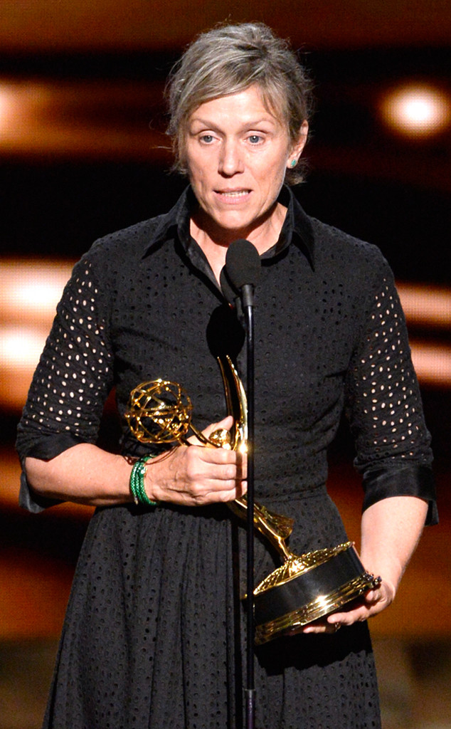 Frances McDormand, Emmy Awards 2015, Show