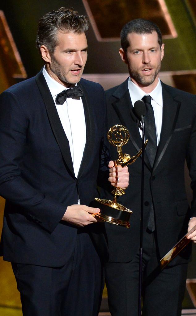 David Benioff, D.B. Weiss, Emmy Awards 2015