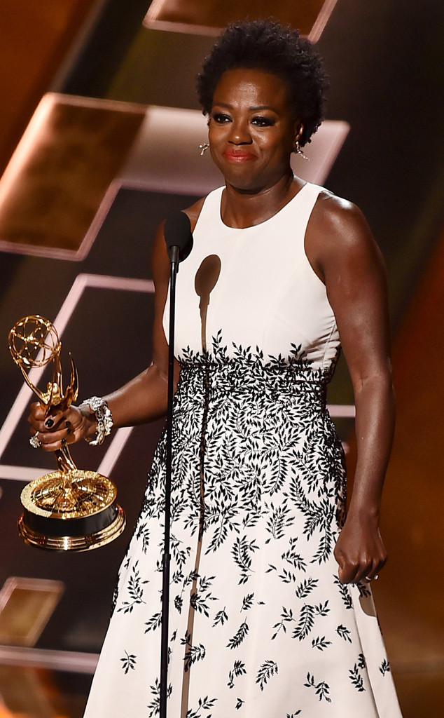 Viola Davis, Emmy Awards 2015, African American Firsts
