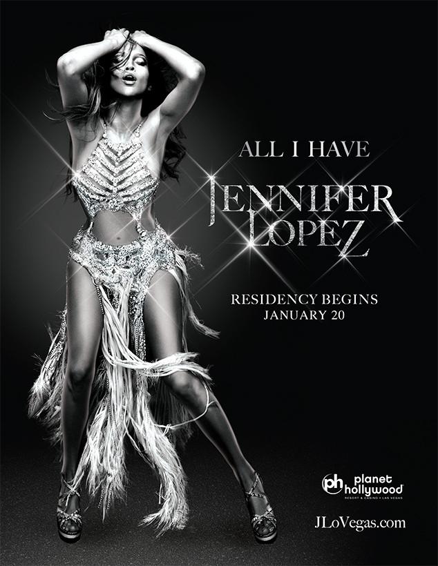 Jennifer Lopez, All I Have Las Vegas Concert Residency Artwork