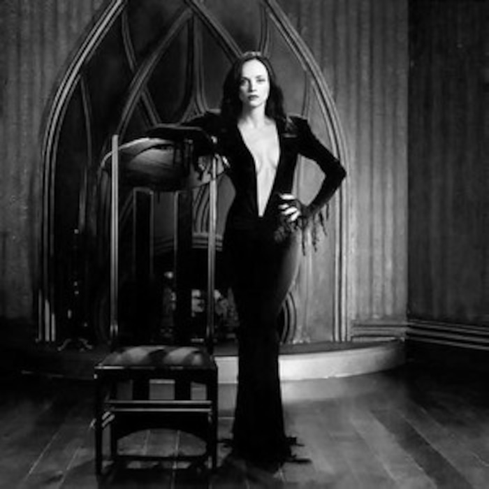 Christina Ricci Dressed Up As Morticia Addams Causes Jaws To Drop