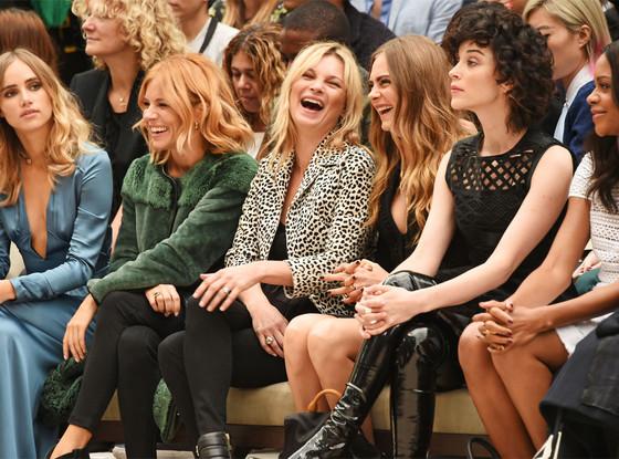 Suki Waterhouse, Sienna Miller, Kate Moss, Cara Delevingne, St Vincent, Naomie Harris