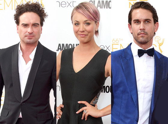 Kaley Cuoco Sweeting, Ryan Sweeting, Johnny Galecki