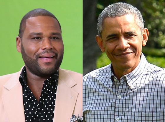 Anthony Anderson, Black-ish, President Obama