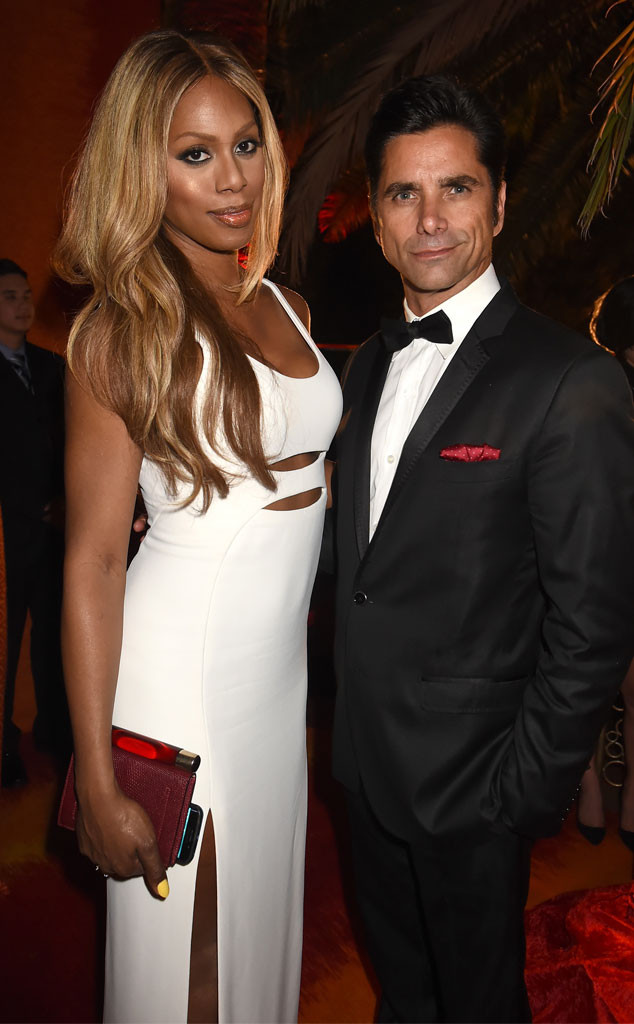 Laverne Cox, John Stamos, HBO Emmy After Party