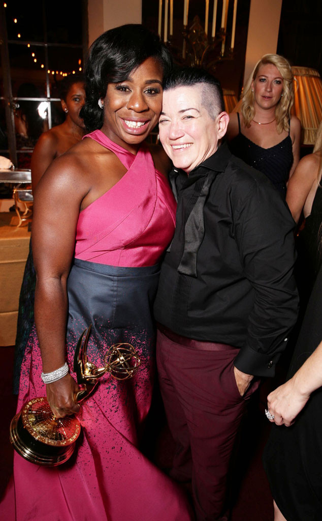 Uzo Aduba, Lea DeLaria, Netflix Emmy After Party