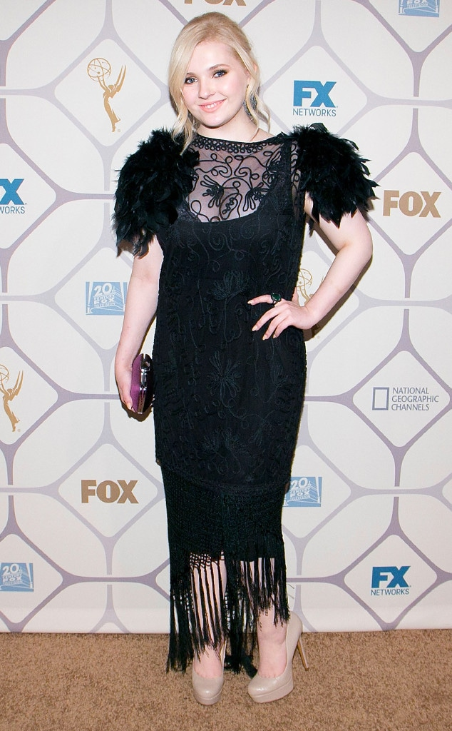 Abigail Breslin, Emmy After-Party