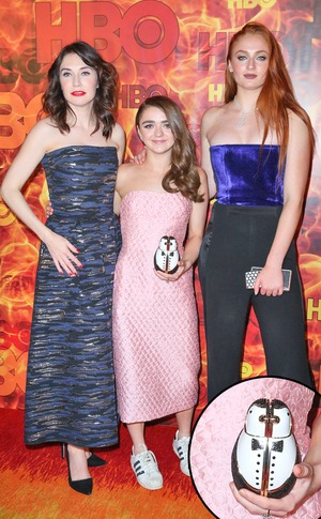 Maisie Williams, Emmy Awards 2015, Best Accessories, Clutch