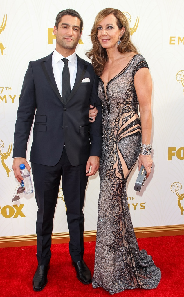 Allison Janney, Philip Joncas, Emmy Awards 2015
